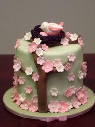 bird nest baby shower topper cake topper cake for cupcake u2026 flickr