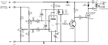 ne555 based low voltage battery cutoff circuit