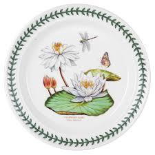 portmeirion exotic botanic garden dinner plate set with 6 assorted