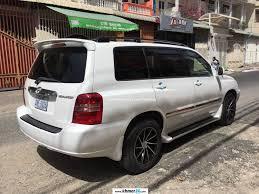 toyota highlander 2017 white highlander 2003 v4 white in phnom penh on khmer24 com