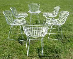 Dining Chairs Sets Side And Arm Chairs Sale Vintage Knoll Harry Bertoia Dining Chairs Set Of 6 Mid