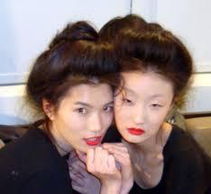 Geisha Hairstyles 33 Best Geisha Make Up And Hair Images On Pinterest Geishas
