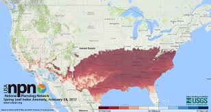 Maps New York Climate Change The U S Geological Survey Hails An Early Spring U2014 And Ties It To