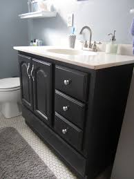 Painted Bathroom Cabinet Ideas Painting Bathroom Cabinet Doors 99 With Intended For My Vanity