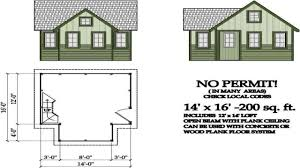 200 square feet guest house plans homes zone