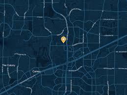 Frisco Texas Map Ford Center At The Star Frisco Tx 75034 Visit Dallas
