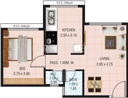 1 bhk floor plan 550 sq ft 1 bhk floor plan image vaastu siddhi landmark
