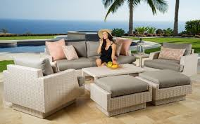 Contemporary Patio Chairs Decorating Using Startling Portofino Patio Furniture For