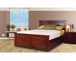 Mahogany Bed Frames Sweet Dreams Wagner 4ft6 Bed Frame With Bed Drawers