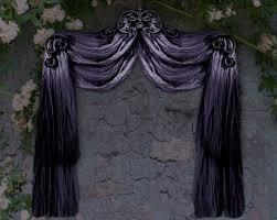 Purple Drapes Or Curtains Second Marketplace Nb Curtain Drapes Tenda Purple