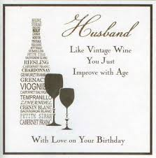 birthday card for husband husband birthday card card design ideas