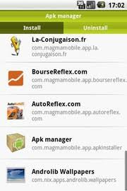 apk app manager apk manager 1 0 5 for android