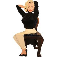 Marilyn Monroe Furniture by Vintage Kathy Callahan Marilyn Monroe Trompe Loeil Solid Wood