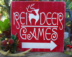 reindeer decorations etsy