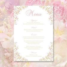 wedding menu templates the 25 best wedding menu template ideas on wedding