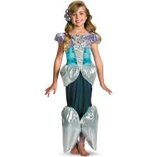 Ariel Clothes For Toddlers Disney Princess Ariel Lame Deluxe Toddler Child Costume