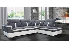 canapé d angle marion microfibre design
