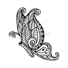 decorative butterfly design vector image 1570318 stockunlimited