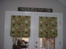 How To Make Roman Shades For French Doors - roman shades for french doors diy u2014 prefab homes picking roman