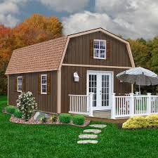 Gambrel Garage Kits Barn Style Homes Kits Barn Decorations