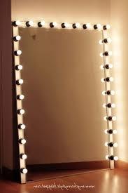 best light bulbs for vanity mirror fascinating free standing makeup mirror with lights best light bulbs