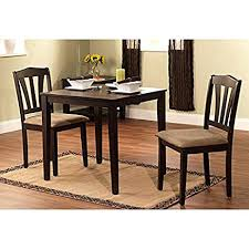 amazon com harewood 3 piece dining set constructed of sturdy