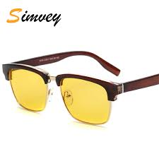 Blue Light Blocking Glasses Aliexpress Com Buy Simvey Classic Retro Half Frame Computer