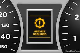 Lights On Dashboard Meaning What Does The Service Required Warning Light Mean Yourmechanic