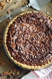 chocolate chocolate chip pecan pie something swanky