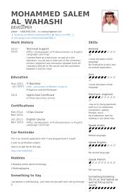 Technical Support Resume Template Technical Support Resume Sles Visualcv Resume Sles Database