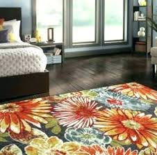 Orange Area Rug 5x8 Amusing 6 X 8 Area Rug For 5 X 7 Area Rugs Rugs The Home Depot In