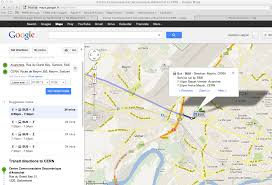 Google Maps Bus Routes by Public Transport In France And Switzerland Site Management And