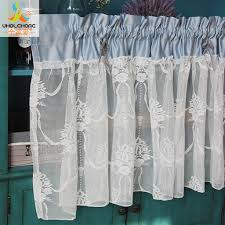 Lace Cafe Curtains Kitchen by Compare Prices On Fashion Kitchen Curtains Online Shopping Buy