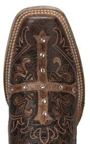 cavender u0027s by old gringo women u0027s vintage brown with tan cross