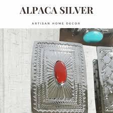 artisan home decor artisan home decor the alpaca silver tesora collection rustica gift