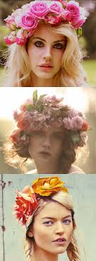 floral headdress because commercial versions how to make a floral headdress