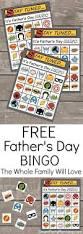 free thanksgiving bingo cards free father u0027s day bingo the whole family will love