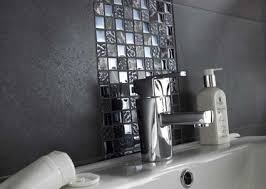 Grey Mosaic Bathroom Bathroom Mosaic Wall Tiles E Causes
