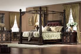 Black King Canopy Bed Le Palais Bed Orleans International