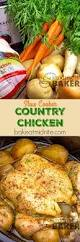 slow cooker country chicken the midnight baker