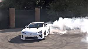 lexus lfa torque 4 minutes of lexus lfa insanity in one video donuts and rubber