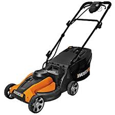 amazon black friday mower sales amazon com worx 14 inch 24 volt cordless lawn mower with easy