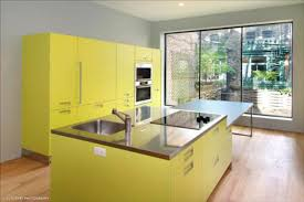 Yellow Kitchen Cabinet by Lovely Yellow Kitchen Cabinet Pertaining To Home Remodel Ideas