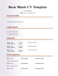 resume templates using wordpad for resume blank cv europe tripsleep co