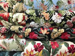 Home Decor Print Fabric Tropical Print Home Decor Fabric Home Decor