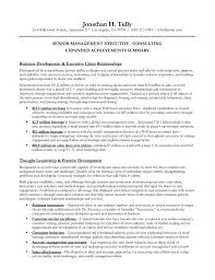 resume summary statements sles resume summary statement management inspirational exle of a on