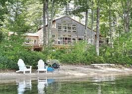 Nh Lakes Region Log Homes by Lakes Region Lake Waukewan New Hampton Nh Vacation Rental Waterfront