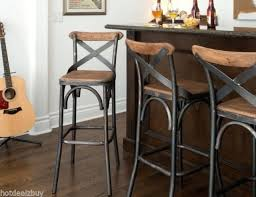 Industrial Metal Bar Stool Surprising Fabulous Metal Barstool With Back Industrial Bar Stools