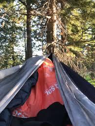Comfortable Camping How To Stay Warm U0026 Comfortable Sleeping In A Hammock