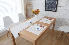 french country style nordic minimalist restaurant dining table